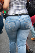 Bubble Butt In jeans